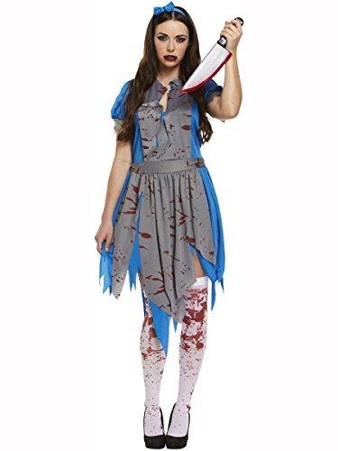 Erwachsene Halloween Horror Alice Maskenkostüm (Blue Dragon Baby Kostüm)