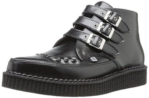 T.U.K. A8503, Chaussures de ville mixte adulte - Noir (Black), 41 EU