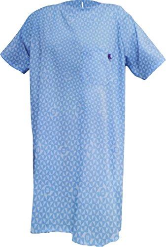 ubio Nachthemd für die Inkontinenz bedruckt Griff kurz Größe M