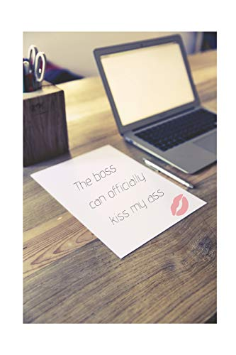 lly Kiss My Ass: Retirement Party Guest Book | A Funny Work Event Sign In Book For Parties With Attitude ()