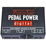 Voodoo Lab Pedal Power Digital Power Supply 120V w/Bonus Deluxe Patch Cable & RIS Picks (x3) 813140001246