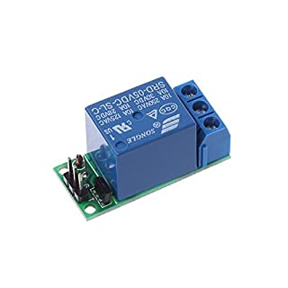 Aawsome IO25A01 5V Flip-Flop Latch Relay Module Bistable Self-Locking Switch Low Pulse Trigger Board