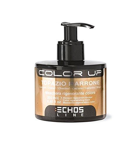 Color Up Maschera Rigenerante Colore - Topazio Marrone (Nuance Castano) 250ml Echosline