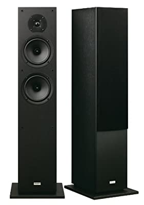 Onkyo SKF-4800 Floor Speaker Front 2-Way Bass Reflex 130 Watt Black by Onkyo Europe Electronics GmbH