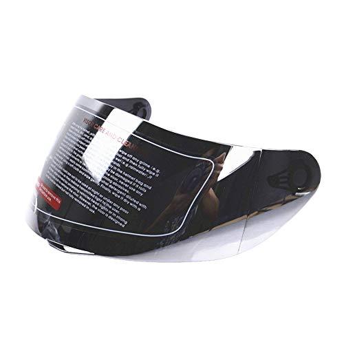 Yiqiane Motorrad Schutzvorrichtung Kratzfester Vollgesichtsschutz-UV-Motorradhelm für 316 902 AGV K5 K3SV zum Motorrad Roller Autocycle (Color : 1)