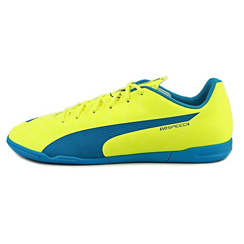Puma evoSpeed 5.4 IT Synthétique Baskets Yellow-Blue-White
