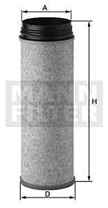 Mann-Filter CF 1470 Filtre à air de post-combustion
