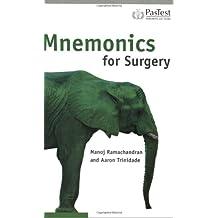 Mnemonics for Surgery