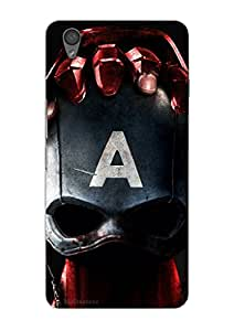 MiiCreations 3D Printed Back Cover for One Plus X,Captain America