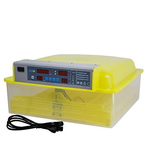 Inkubator Brutmaschine EW-48 mit Zeitschaltuhr, automatische Wendefunktion, Temperaturregler und Temperaturalarm - 5