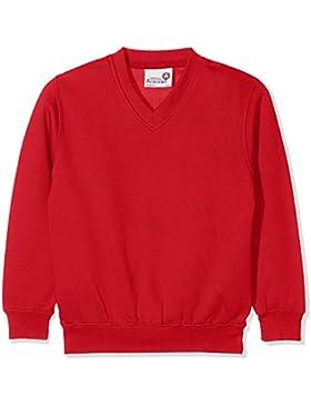 AWDis Kids Academy V-Neck Sweatshirt, Camiseta de Uniforme para Niños