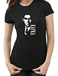 Franz Kafka T-Shirt, schwarz Ladies, XL