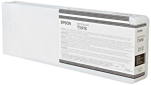 Epson T5918 Cartouche d'encre d'origine 1 x noir mat