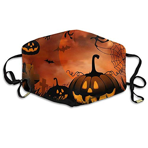Fashion Outdoor Mouth Mask with Design, Reusable Half Face Mask Anti-dust Mask, Womens Face Mask Anti-Dust Respirator Gift Wallpapers Desktop Pictures Backgrounds 8 Scary Halloween Wallpapers