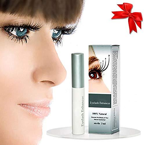 1bottle Wimpern Wachstum Serum Pflegende Enhancer Sicher Ingredient Wimpern Rasantes Wachstum länger flüssig dicker und voller Lashes (3 ml / 0,1 Unzen) - Pflanzliche Wesen