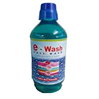 E-wash Easy Wash Liquide Detergent And Softner, 500ml Pack Of 4