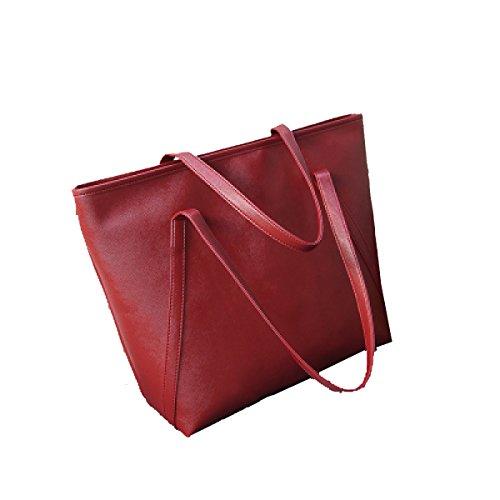 3 Große Kreativer Taschen Umhängetasche Mode Farben Red Trend Tasche Freizeit Yy Hand Retro Neuer Wilde f Minimalistische Tasche qtwpxZZA