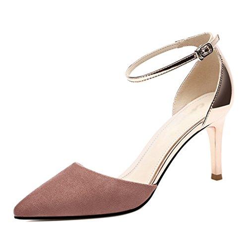 Chaussures femme HWF Sandales Femme Eté Femme Chaussures Mince Talons Hauts Ms