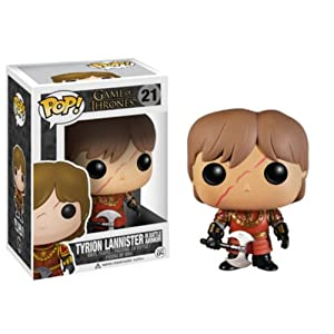 POP Tyrion Lannister Scar Battle Armour Vinyl Figure