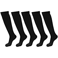 5 Pairs Knee High Graduated Compression Socks For Women & Men, BEST Stockings for Running, Medical, Athletic,... preisvergleich bei billige-tabletten.eu