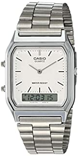 Casio Collection AQ-230A-7DMQYES Mens Watch, Off-White (B000LCV6KK)   Amazon price tracker / tracking, Amazon price history charts, Amazon price watches, Amazon price drop alerts