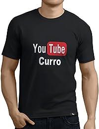 a15199d7d Tuning Camisetas - Camiseta Divertida para Hombre - Modelo YoutubeCurro