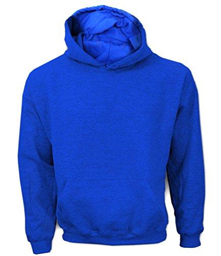 Artdiktat Herren Hoodie Rückenmotiv - JACK RUSSELL WITH BONE Größe XXL, blau Blaue Jack Hundefutter