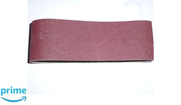 M/élange de tissus Bandes abrasives pour ponceuse /à bande 100/x 560/mm Grain Bandes abrasives K40//60//80//120//180 25/Stk
