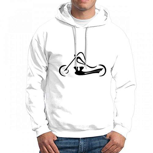 Custom Motorcycles Men's Pullover Logo Hoodie Custom Sweater