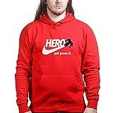 BigHeroJustProveitDoitSportsHoodieRED L Red