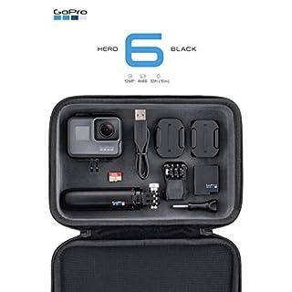 GoPro Unisex Adult Black Hero6 Bundle, Schwarz, 2