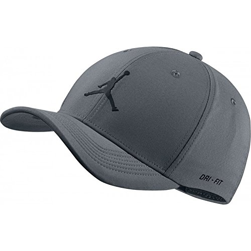 Nike Jordan Jumpman CLC99 Woven Gorra de Tenis, Unisex Adulto, Gris (Cool Grey), L/XL