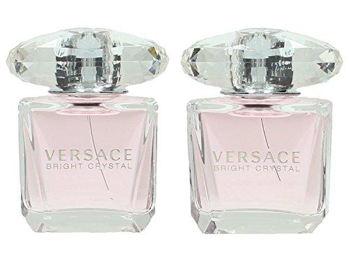 Bright Crystal de Versace pour Femme contient Eau de Toilette 30 ml - Lot de 2