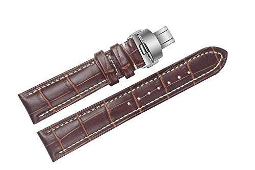 19-mm-colore-marrone-in-pelle-italiana-di-lusso-di-ricambio-cinturini-bande-a-mano-con-cuciture-bian