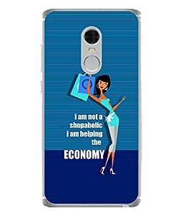 FUSON Designer Back Case Cover for Xiaomi Redmi Note 4 (2017 Edition) (Shiva Parvati In Cool Blue Design)
