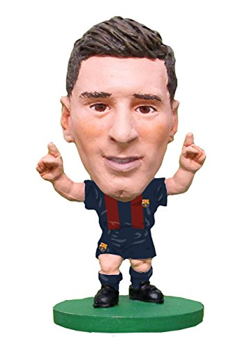 7cdcb4ef4 SoccerStarz SOC1059 2017 Version Barcelona Lionel Messi New Sculpt Home Kit