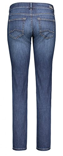 MAC Damen Straight Jeans Carrie Pipe D845