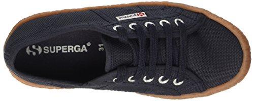 Superga 2750-Naked Cotj Scarpe da ginnastica, Unisex bambini Blu (Navy)