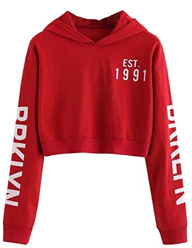 ᐅᐅ Bauchfreie Pullover Für Mädchen » Kapuzenpullover Test