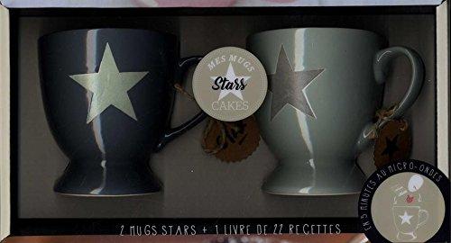 Mes mug cake stars : Avec 2 mugs stars
