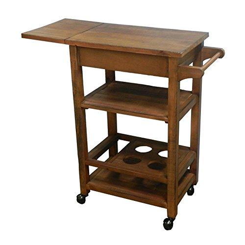 stealstreet 91,4cm Esstisch aus Holz Warenkorb, braun, one size (Holz-speicher-warenkorb)