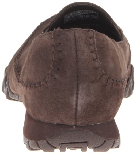 Skechers Bikers - Pedestrian, Ballerines et talons femme Marron - Brown (Chocolate)