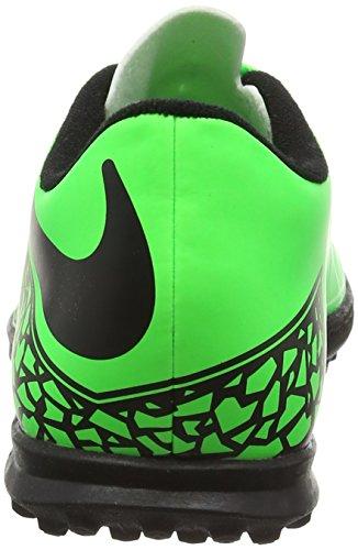 Nike Hypervenom Phade Ii Tf, Scarpe sportive, Uomo Verde/nero  (Green Strike/Black-Black)
