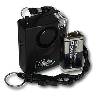EPOSGEAR Extrem Laute 143dB Persönlichen Angriff Vergewaltigung Taschenalarm Alarm mit Gürtelclip und Befestigungswinkel (mit Taschenlampe Strobe, mit Ersatzbatterie)