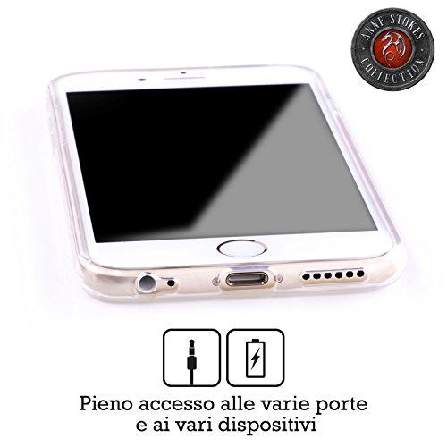 Offizielle Anne Stokes Lava Drachen Soft Gel Hülle für Apple iPhone 5 / 5s / SE Wut