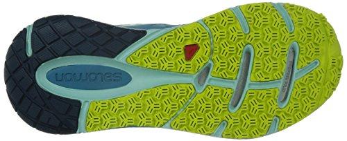 Salomon - Sense Pulse, Scarpe da corsa Donna Blu (Blau (Mist Blue/Igloo Blue/Gecko Green))