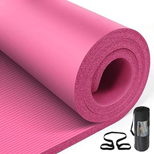 Colchonetas de yoga 20 Mm / 30 Mm Gruesas Colchonetas De Pilates Esterilla Deporte Estera De Camping Estera For Dormir Estera De Fitness (Color : O-20mm)