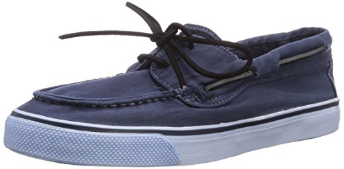 Sperry Bahama 2-Eye Washed, Damen Sneakers, Blau (Navy), 40 EU (6.5 Damen UK)