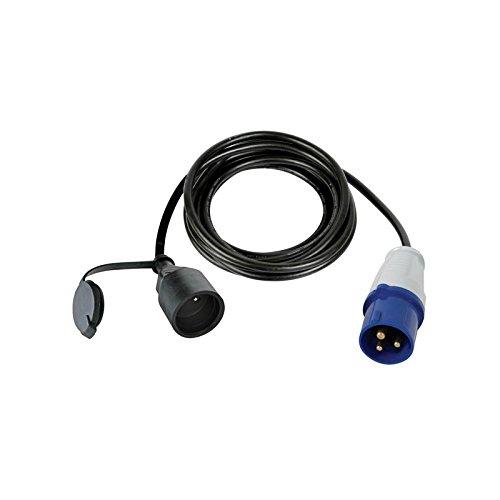 Perel ECEEC3M-3 Câble adaptateur avec prise mâle vers prise Cee 3 m