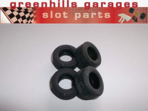 Greenhills Scalextric Accessory Pack Tyres x 4 For